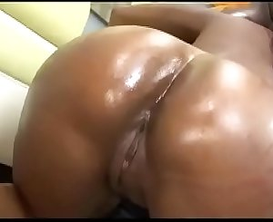Big oiled bottom ready to be dilated!