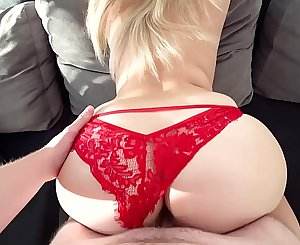 Perfect Big Ass Bouncing On My Cock