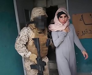 Arab Hooker Satisfies American Soldiers In A War Zone!