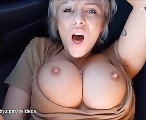 My Dirty Hobby - Nosey student get's fucked in a car