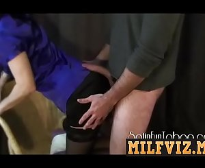 MILFVIZ.ML - Mom's Satin Dress