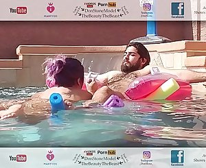 Big Booty Latina Gives Head To Pool Dude On His Break Hot Hairy Man